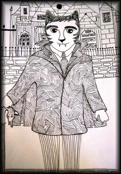 Dark Shadows Cat