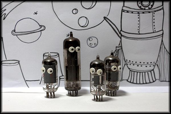 TV tube robots