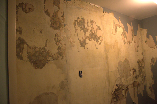 Wallpaper Removal Is Nearly Done