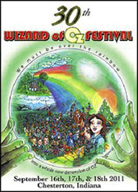 Wizard of Oz program cover