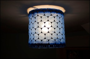 Furnace Filter Lampshade