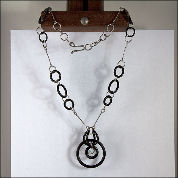 """O"" Ring Necklace"