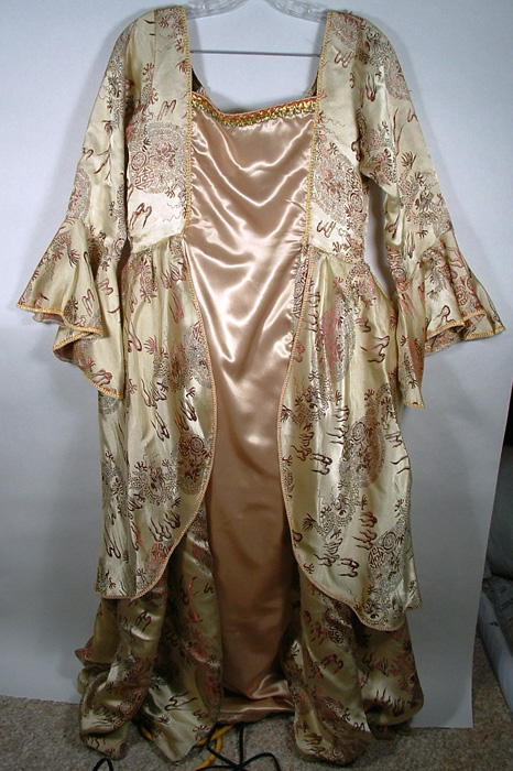 Photo of ball gown costume.
