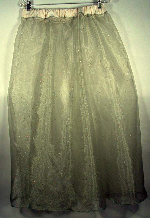 Photo of organza underskirt.