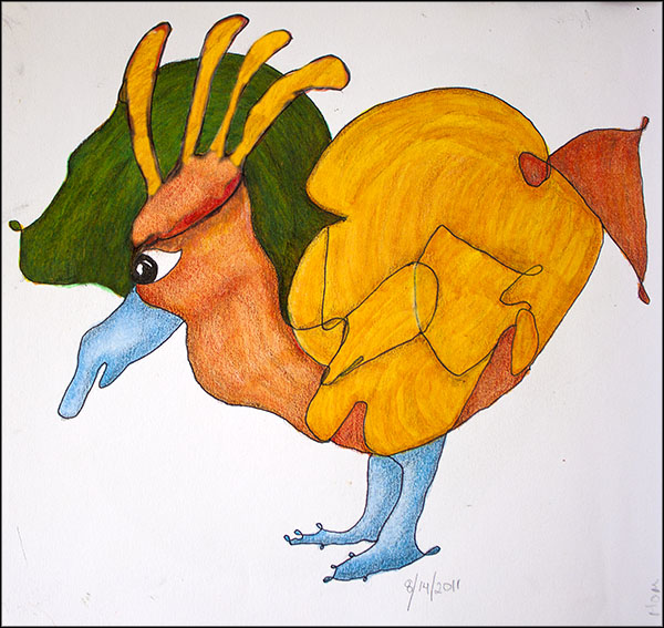 Squiggle Bird.