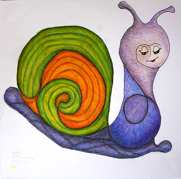 Squiggle Snail