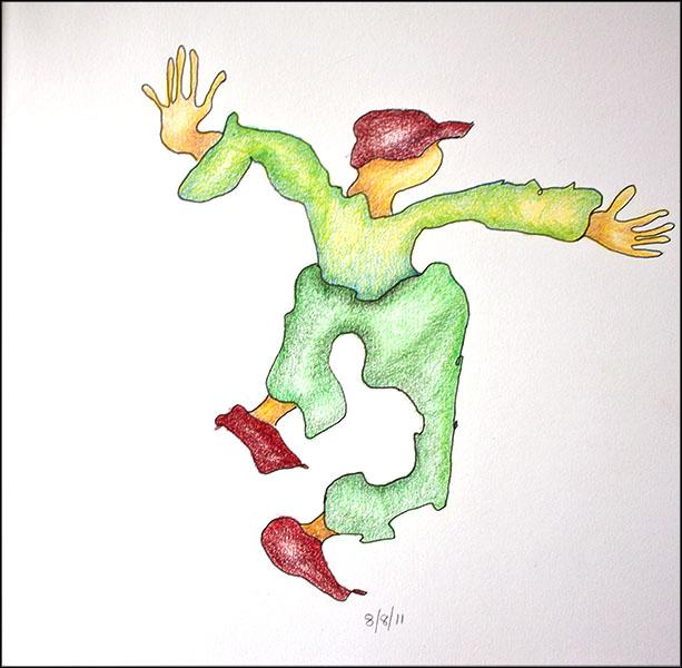 Squiggle jumper.