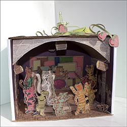 Beatles Diorama