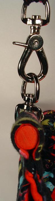 Photo of strap hardware.