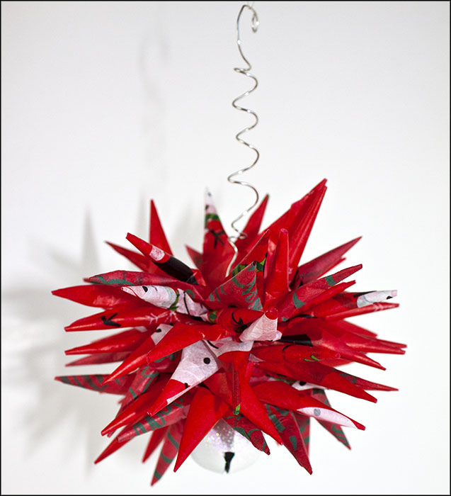 Paper Star Ornament