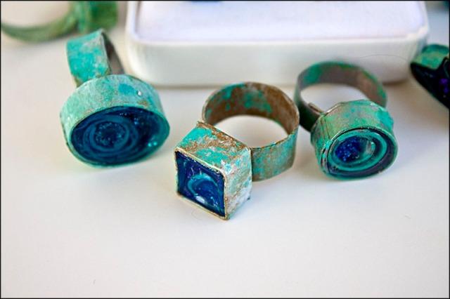 Paper Rolls Ring