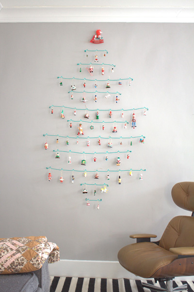 Crafty Challenge 5: Wire Ornament Tree | the crafty sisters