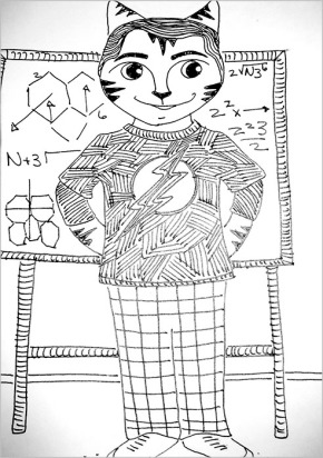 Big Bang Theory Cartoon Cat LInk
