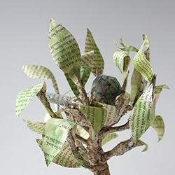 Paper Mache Bird Nest Tree Wire Crafty Sisters Challenge