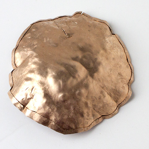 Copper Craft Challenge Crafty Sisters Hammered