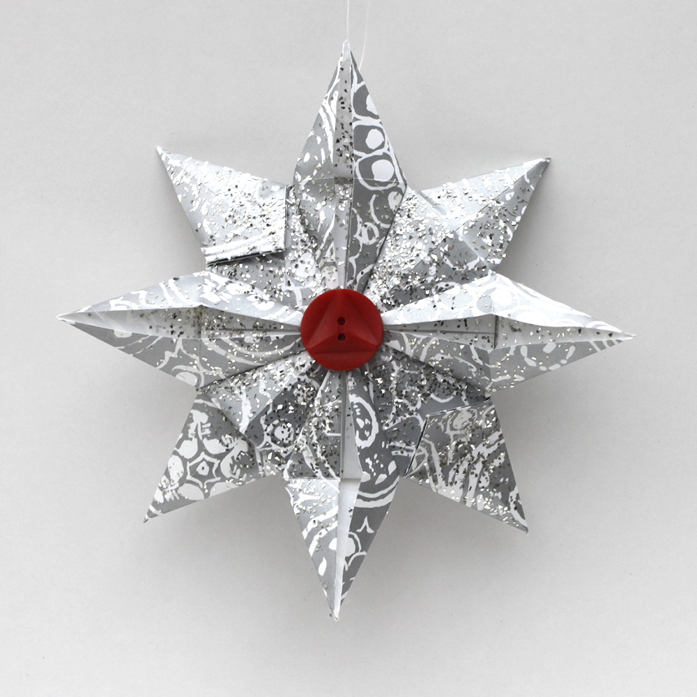 Folding 5 Pointed Origami Star Christmas Ornaments | Christmas ... | 1000x1000