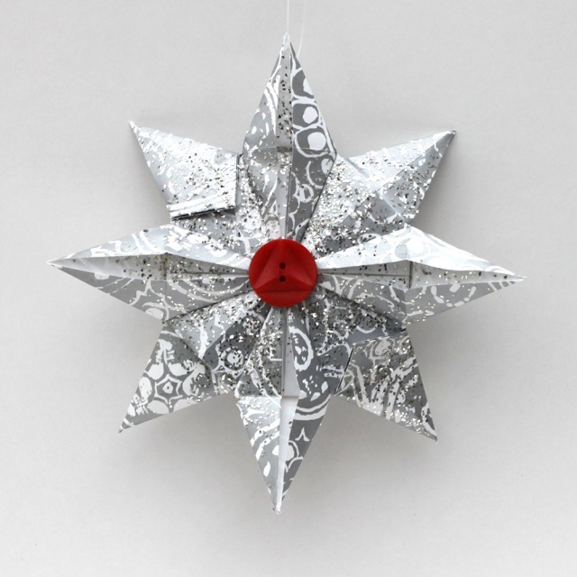 Ornament Advent: Day 16 Origami Star