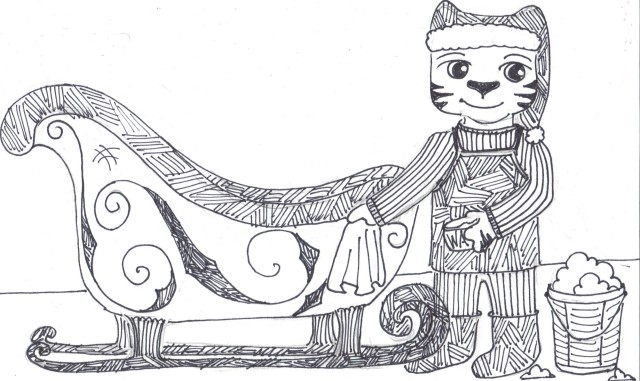waxing the sleigh