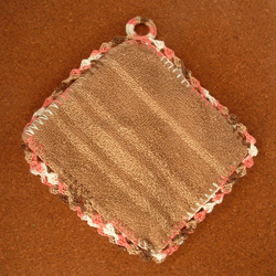Finished hot pad