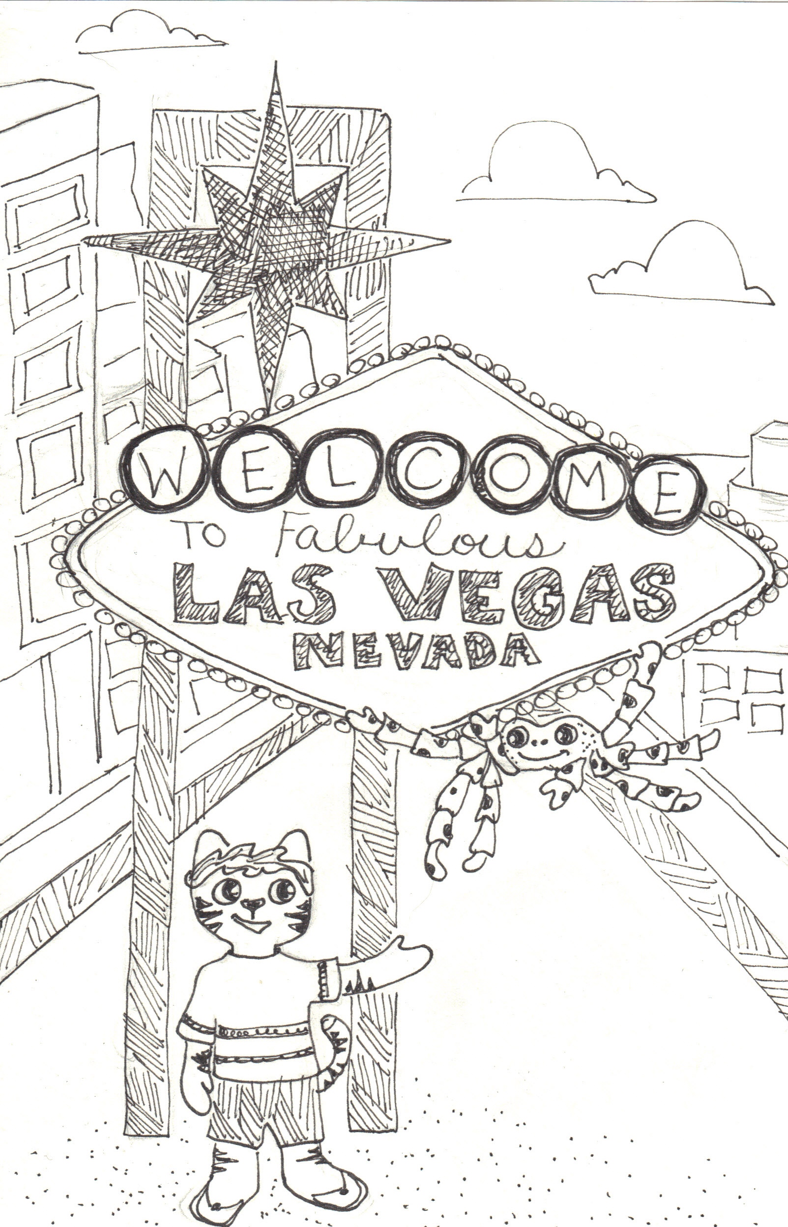 wel e to las vegas what a cat the crafty sisters W Hotel Las Vegas