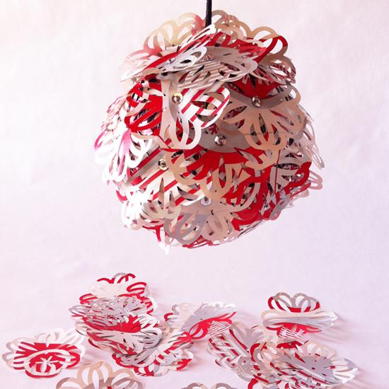 Small photo of paper ornament.