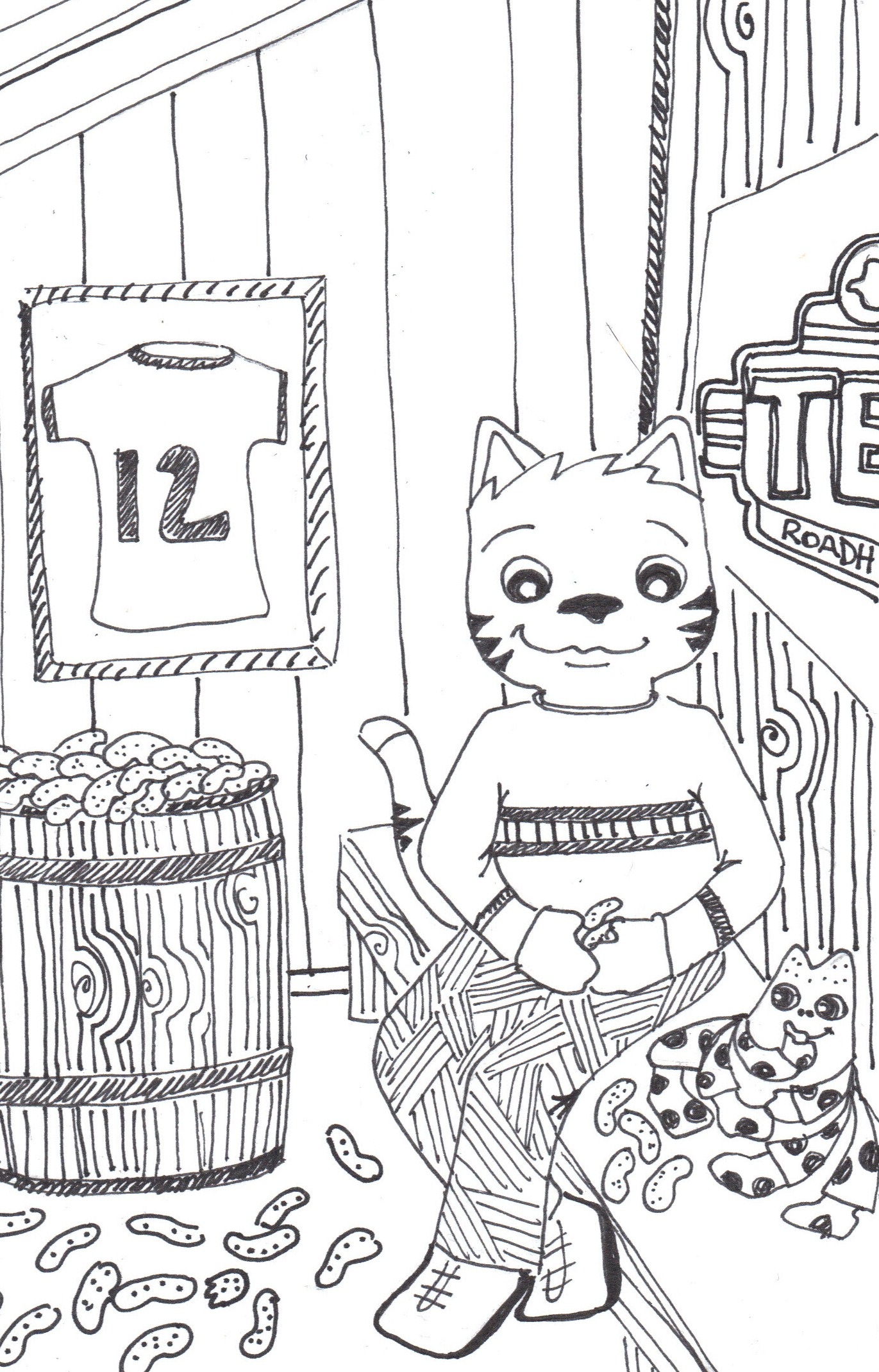 Texas roadhouse coloring pages coloring page january 2017 the crafty sisters page 2 buycottarizona