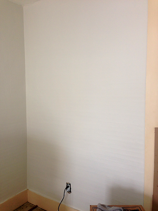 Studio makeover 3 behr premium plus ultra paint primer Priming walls before painting