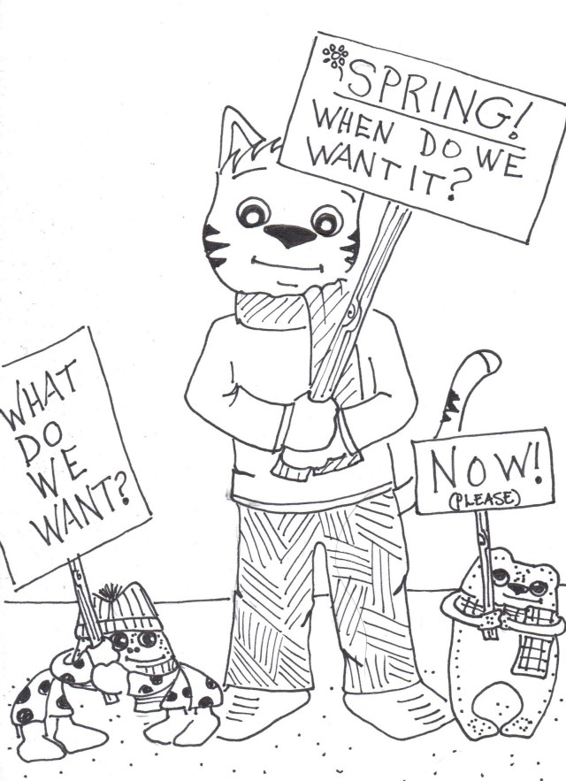 Spring protest