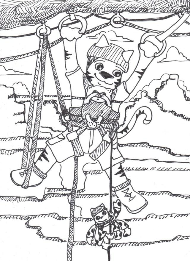 rocky climbing