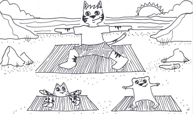 shore yoga