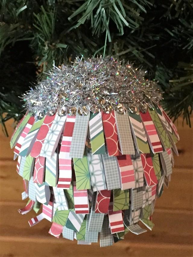 paper fold ornament