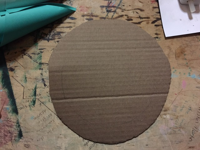 6 inch cardboard circle