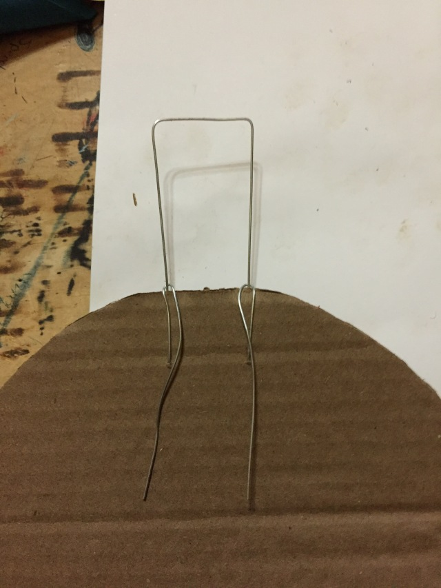 attach wire hanger